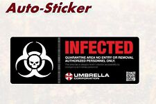 Infected Umbrella Corporation Adesivi Colorati Adesivi Digital JDM Style Tuning