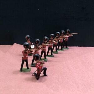 Britains: From Set 34 - Grenadier Guards Firing. Pre War c1930