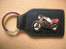 Schlüsselanhänger Yamaha RD 350 RD350 ohne Verkleidung rot/weiß Motorrad 0515