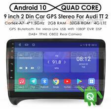 For Audi TT MK2 8J Car GPS Navigation Radio Stereo Headunit Autoradio Android BT