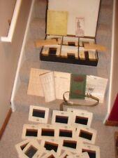 ANTIQUE 1916 SALESMAN SAMPLE CASE TAILOR SUIT FABRIC WOOLEN MILLS CLOTHES OOAK