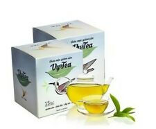 2 Boxes Herbal tea Detox to drink along with diet & exercise.