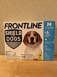 Frontline Plus for Medium Dogs 23-44 lbs. 6 Doses