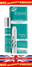 Eye Lifting Roll-on EVELINE w/Cooling Effect Bio Hyaluron 4D Wrinkle Filler 15ml
