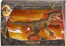 Jurassic World ámbar Colección Velociraptor Figura De Acción Jurassic Park Raptor