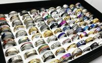 20 x wholesale joblot of women mens assorted rings jewellery DIFFERENT SIZES BB1