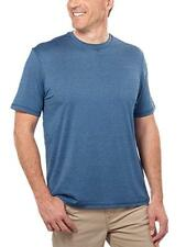 NEW G.H. Bass & Co Mens Whitewater Crew Neck Turbo Dry Short Sleeve Tshirt MED