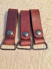 2  Custom Handmade Leather Danglers For Mora Plastic Sheath