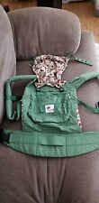 GENTLY USED ERGO BABY ORGANIC BABY CARRIER GREEN