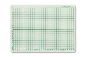 A4 Cutting Mat Double Sided Self Healing Printed Grid Art Craft Hobby