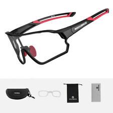 ROCKBROS Sportbrille Sonnebrille Vollformatbrille UV400 Verfärbung Schwarz Rot