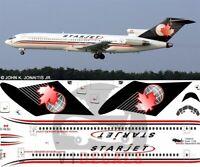 V1 Decals Boeing 727-200 Starjet for 1/144 for Airfix Model Airplane Kit V1D0515