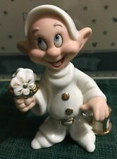 Walt Disney Showcase Collection Lenox Classic Grumpy Dopey Snow White Whiteware