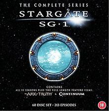 DVD:STARGATE SG1 - COMPLETE MEGAPACK - NEW Region 2 UK