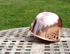 "Copper 6-1/2"" Zabaglione Bowl w/ rolled rim, ODI"