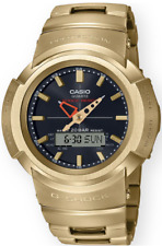 Casio G-Shock Stainless Steel AWM500GD-9A Gold Analog-Digita Multi-Band 6 Solar