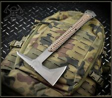 "Rmj Tactical Ragnarok Tomahawk 14"" 1075 Steel Hyena Brown G10 Authorized Dealer"