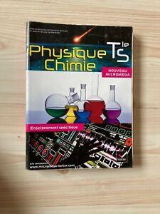 Manuel scolaire Sciences Physiques Lycée Terminale - Editions Hatier