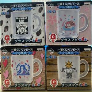 ONE PIECE Glass Mug Set New Ichibankuji G Prize The Beginning of a New Era Anime