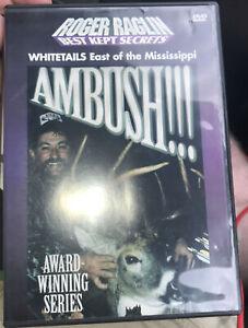 Roger Raglin - Ambush- Whitetails East Of The Mississippi DVD - Hunting video