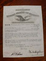 WWI U.S. Army Officer's Commission Personalized Document