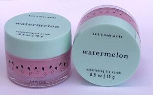 "2x Bath & body works ""Watermelon"" Exfoliating Lip Scrub"