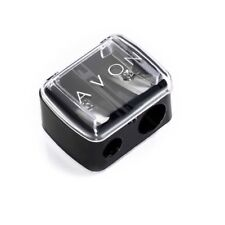 Avon Double Holed Pencil Sharpener with Removable Lid-Size: 3.7x3x2.2cm-Sealed
