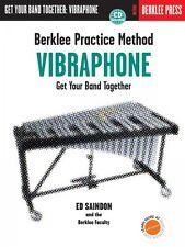 Berklee Practice Method: Vibraphone Berklee Methods Book and CD NEW 050449436