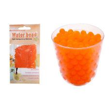 10g Arancione Magic Cristallo Suolo Gel Acqua Perline Cerimonia Vaso per piante CENTRO TAVOLA