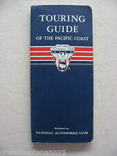 1959 NAC Touring Guide of the Pacific Coast