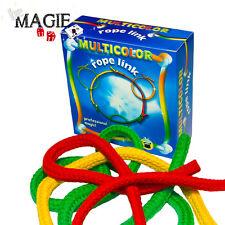 Cordes multicolores en anneaux - Multicolor Rope Link - Tour de Magie