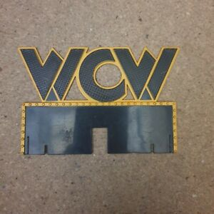 WCW sign WWE Accessories wrestling figure spares