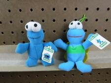 Sesame Street Mini Beans lot of 2 Twiddle Bug & Cookie Monster 4 1/2 inch tall