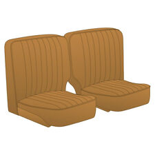 MG TF Seat Cover set Biscuit colour Leather Pair 1953-1955 NEW part no 245-100
