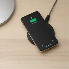 IKEA LIVBOJ WIRELESS CHARGER FOR IPHONE 8 & SAMSUNG GALAXY6, BLACK 904.652.