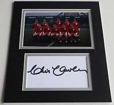 Chris Lawler Signed Autograph 10x8 photo display Liverpool Football AFTAL COA