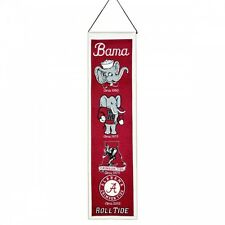 NCAA Football ALABAMA CRIMSON TIDE BAMA College Wimpel Pennant Banner Heritage