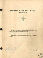 Airspeed Ambassador  Maintenance Service Manual Rare Historic Archive 1950's