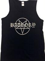 BATHORY Tank top Death Black Metal Mayhem Venom Celtic Frost Thrash Slayer S- XL