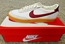 Nike x J. Crew Men's Killshot 2 Burgundy Mesh Vulc Red White Gum SIZE 11.5