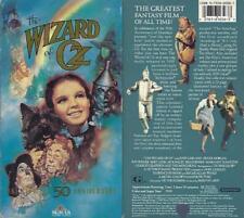 VHS: 50th ANNIVERSARY WIZARD OF OZ.....JUDY GARLAND