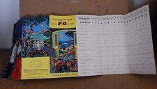 Vintage P & O Cruise 1958 Programme. for R.M.S Chusan Iberia & Arcadia