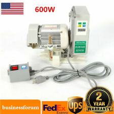 600W Brushless Servo Motor Set Energy Saving For Industrial Sewing Machine Usa