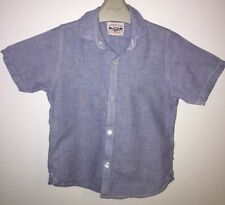 Boys Age 4 (3-4 Years) - Next Blue Short Sleeved Shirt