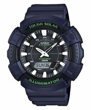 Casio New AD-S800WH-2A Blue Digital Analog Mens Watch Tough Solar AD-S800