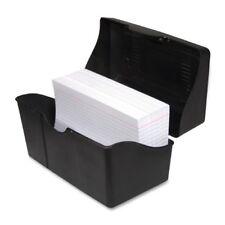 Advantus Index Card Holder 48 X 7 X 48 Plastic 1 Each Each Black