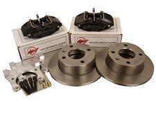 Wilwood Sierra Rear Brake Kit Powerlite Handbrake 4 Pot Calipers