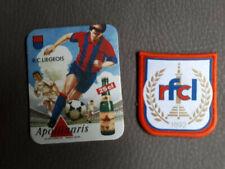 Ecusson RFC LIEGE Football + carton Apollinaris