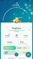 Pokemon Go ✨ SHINY Magikarp Capture Magicarpe 🔥 80+ IV ✅