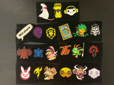Blizzard Blizzcon Series 1 Backpack Badge Patches WoW Overwatch CHOOSE YOUR OWN!